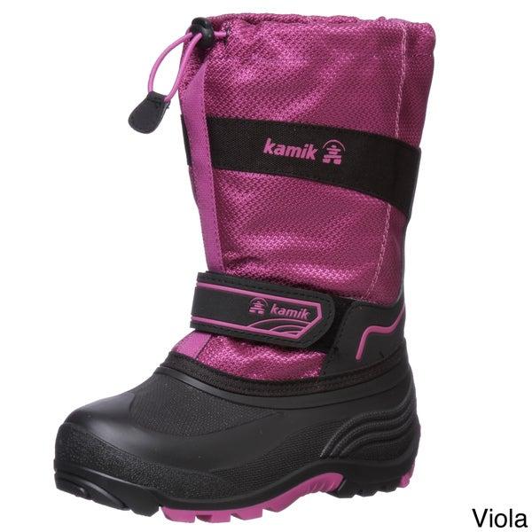 Kamik Girl's 'Coaster' Nylon Snow Boots