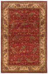 Hand-tufted Artisan Rust Rug (8' x 10')