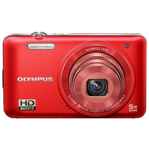 Olympus VG-160 14MP Red Digital Camera