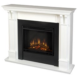 Real Flame Ashley White Electric Fireplace