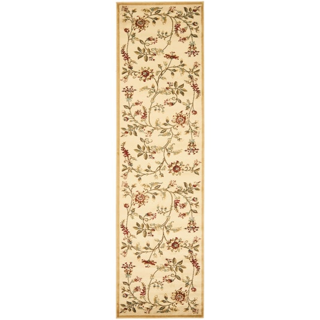 Safavieh Lyndhurst Zen Gardens Ivory Pile Rug (2'3 x 12')