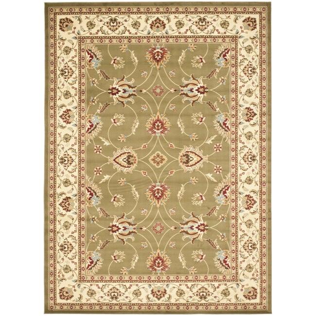 Safavieh Lyndhurst Traditions Green/ Ivory Rug (9' x 12')