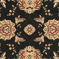Safavieh Lyndhurst Tabriz Black/ Ivory Rug (9' x 12')