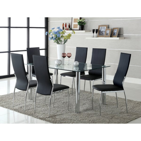Furniture of America Arden 7-piece Contemporary Dining Set