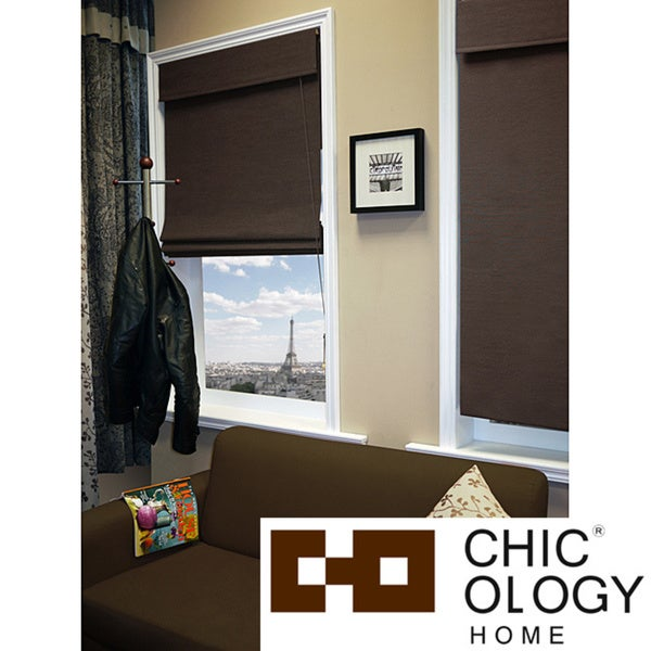 Chicology Nevada Oolong Roman Shade (36' x 72')