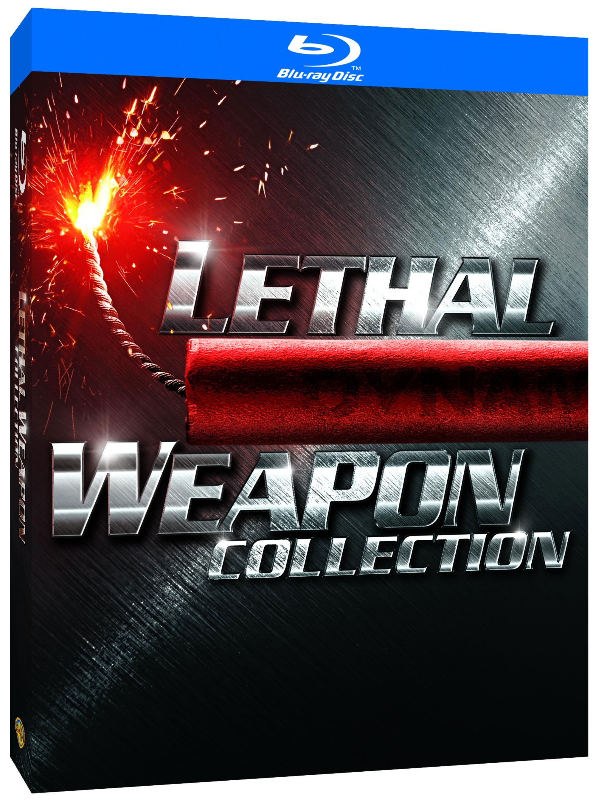 Lethal Weapon Collection (Blu-ray Disc)