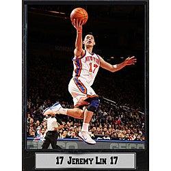 New York Knicks Jeremy Lin Basketball Photo Plaque