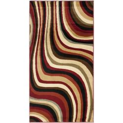 Safavieh Porcello Waves Blue/ Multi Rug (2' x 3'7)