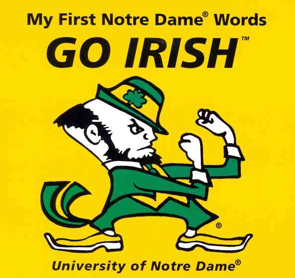 My First Notre Dame Words Go Irish (Board book)