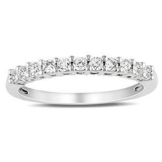 Miadora 14k Gold 1/3ct TDW Certified Diamond Ring (G-H, SI1-SI2)