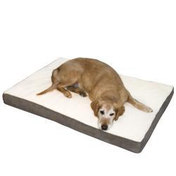 Ozzie Medium Mocha Orthopedic Dog Bed
