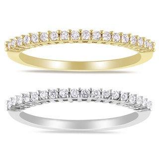 Miadora 14k Gold 1/5ct TDW Diamond Wedding Band (G-H, I1-I2)