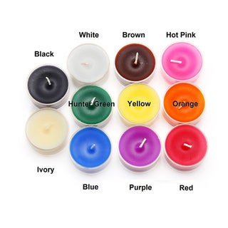 Plastic Cup 4-hour Tea Light Candles (Case of 600)