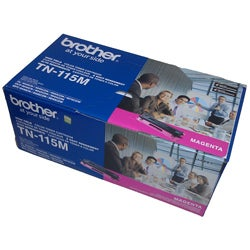 Brother TN115 Magenta Nonrefillable Laser Printer Toner Cartridge