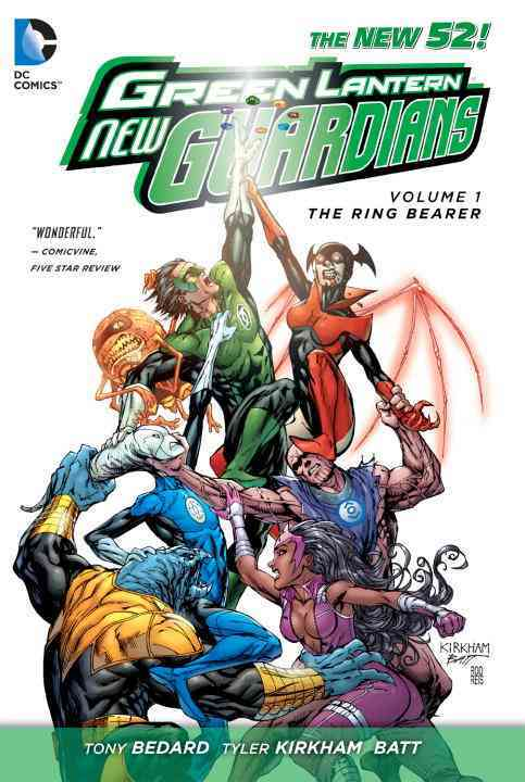 Green Lantern: New Guardians 1: The Ring Bearer (Hardcover)