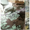 Handmade Alexa Pino Yarrow Floral Rug (8&#39;3 x 11&#39;)