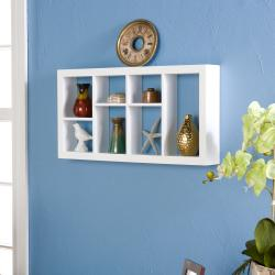 Upton Home The Felson 24-inch White Display Shelf