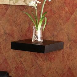 Upton Home Tampa 10-inch Black Floating Shelf