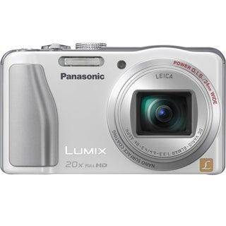 Panasonic Lumix DMC-ZS20 14.1 Megapixel Compact Camera - White