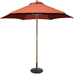 TropiShade Rust 9-foot Umbrella Shade
