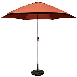 TropiShade 9-foot Rust Aluminum Bronze Market Umbrella