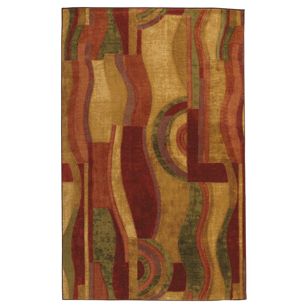 Picasso Multi Contemporary Rug Rug (5' x 8')