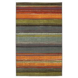 Rainbow Multi Stripe Rug Rug (5' x 8')