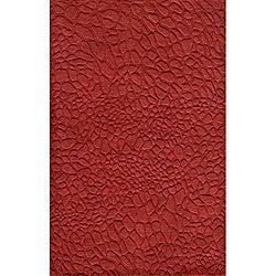 Hand-loomed Loft Stones Red Wool Rug (9'6 x 13'6)