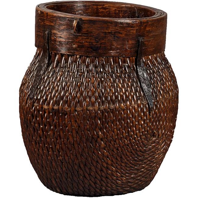 Vintage Tea Basket