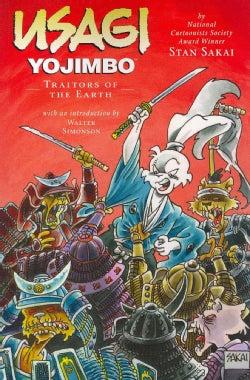 Usagi Yojimbo 26: Traitors of the Earth (Paperback)