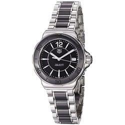 Tag Heuer Women's WAH1210.BA0859 'Formula 1' Black Dial Ceramic Quartz Watch