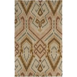 Safavieh Handmade Chatham Journey Brown New Zealand Wool Rug (4' x 6')