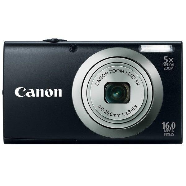 Canon Powershot A2300IS 16MP Black Digital Camera