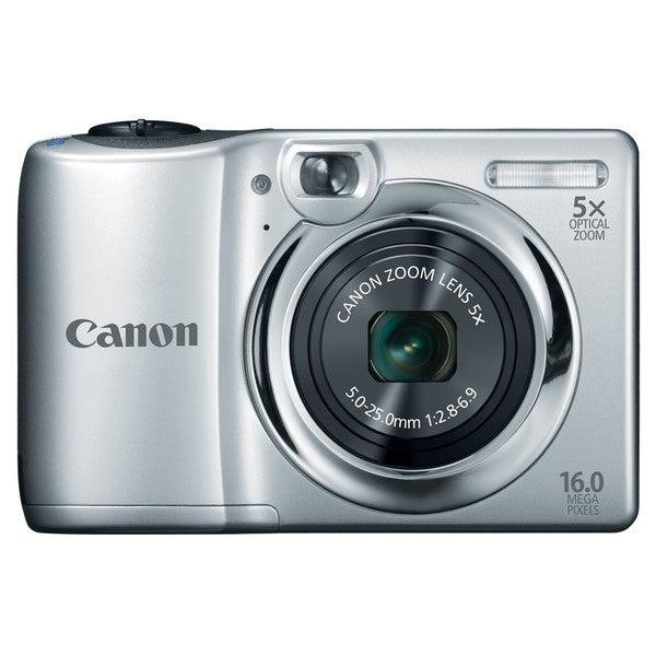 Canon PowerShot A1300 16MP Silver Digital Camera