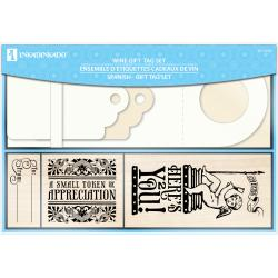 Inkadinkado 'Wine Tag' 27-piece Mounted Rubber Stamp Set