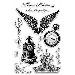Stampendous Time Flies Perfectly Clear Stamps