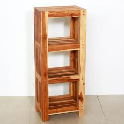 Teak Wood Shelf Tower (Thailand)
