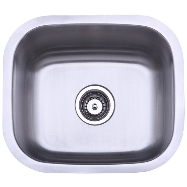 Stainless Steel 18-inch Undermount Kitchen Sink
