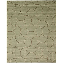 Hand Tufted Santana Abstract Wool Rug (5' x 8')