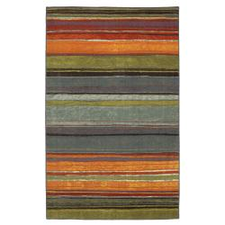 Mohawk Home Rainbow Multi Stripe Rug (1'8x2'10)