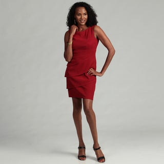 Connected Apparel Women's Tiered Empire Dress