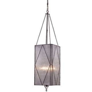 Landmark Lighting Stockton 4-light Polished Chrome Lantern