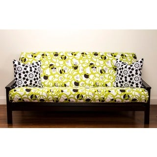 Full Circle Green Full-size Futon Cover