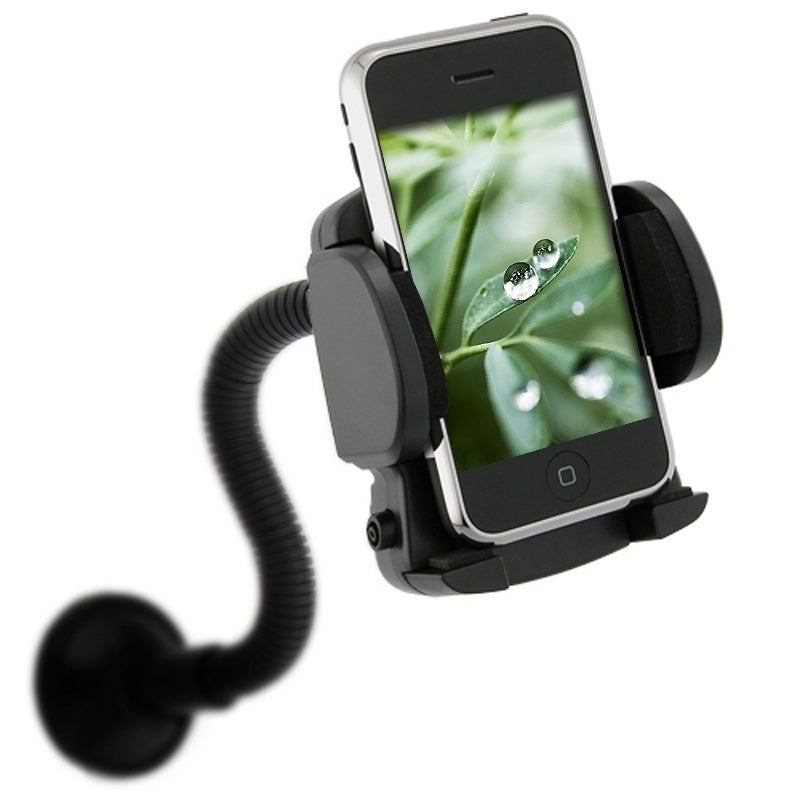 INSTEN Universal Vent Windshield Car Mount for Apple iPhone 4S/ 5S/ 6