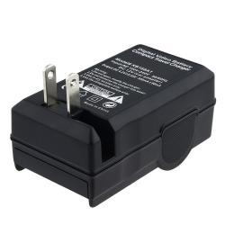 INSTEN Black Compact Battery Charger Set for Nikon EN-EL12