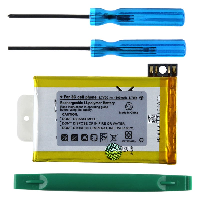 INSTEN Li-ion Battery and Tools for Apple iPhone 3G/ 3GS