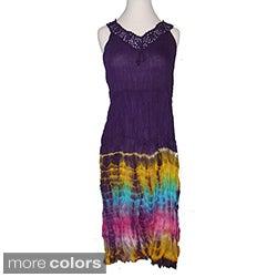 Tie-dye Crochet Dress (Nepal)