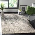 Safavieh Deco Inspired Black/ Grey Rug (8' x 10')