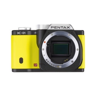 Pentax K-01 16.3MP Mirrorless Yellow Digital SLR Camera (Body Only)