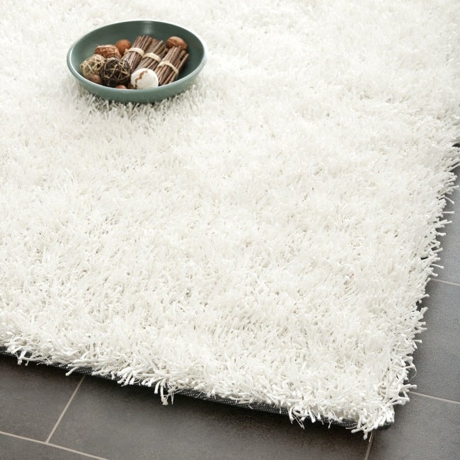 Safavieh Medley Textured Shag Off-White Rug (3' x 5')